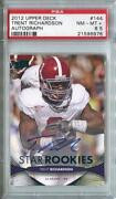 2012 Upper Deck Trent Richardson