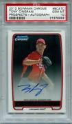 2012 Bowman Chrome Tony Cingrani
