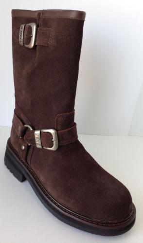 mens brown engineer boots ebay