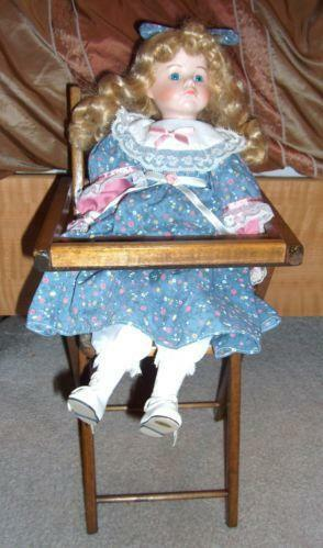 Baby Doll High Chair Ebay