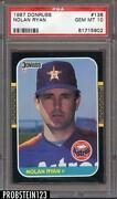 Nolan Ryan Astros Card