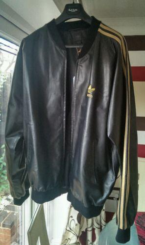 d65f88127834 Adidas Leather Jacket