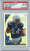 2010 Topps Chrome Ryan Mathews