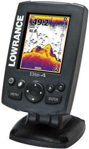 Lowrance Depth Finder >> Lowrance GPS Fishfinder Elite 4   eBay