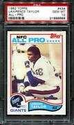 New York Giants PSA 10