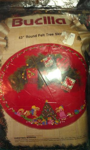 Christmas Tree Skirt Felt Kits