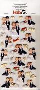 3D Sticker Hochzeit