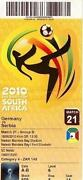 World Cup 2010 Ticket