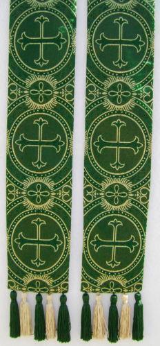 Green Clergy Stole Vestments Ebay