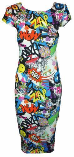 8fb84d0ee85 Comic Dress