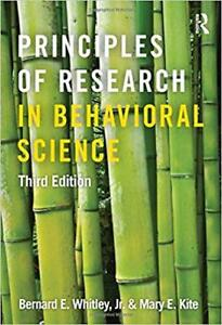 Principles of Research In Behavioral Science - 3rd Edition