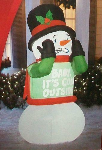 animated christmas inflatable ebay