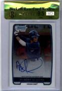 Albert Almora Bowman Chrome Auto
