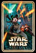 Star Wars Disney Poster