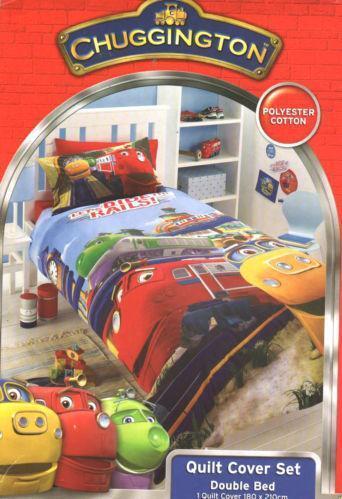 Chuggington Twin Bedding Set