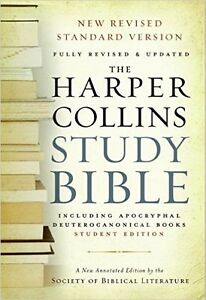 Harper Collins Study Bible - Student Edition: Fully Revised