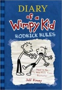 BRAND NEW DIARY OF A WIMPY KID #2 RODRICK RULES