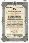 Uncancelled Stock Certificates