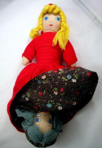 Vintage Red Riding Hood Doll Ebay