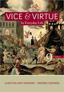 vice and virtue in everyday life 9th edition by christina sommer