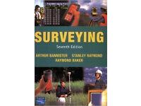 Book - Surveying by Arthur Bannister - Stanley Raymond - Raymond Baker - 7th Edition