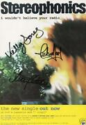 Stereophonics Signed