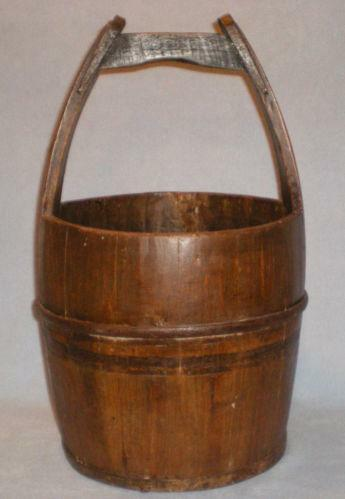 Old metal bucket antiques ebay for Old metal buckets