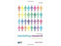 Marketing Research Tools & Techniques 3rd edition Nigel Bradley Book