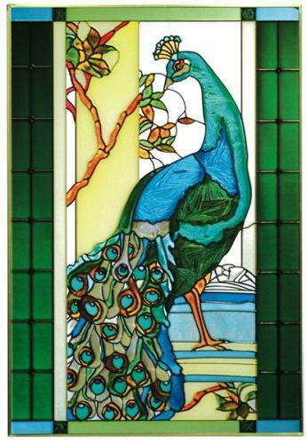 Art Glass Window Panels Ebay