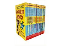 Horrid Henry The Complete Story Collection 24 Books Box Set (missing 1 book)