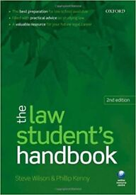 The Law Student's Handbook 2nd Edition by Steve Wilson (Author), Phillip Kenny (Author)