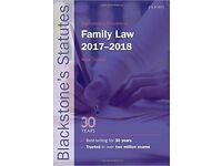 Blackstone's Statutes on Family Law 2017-2018 by Mika Oldham