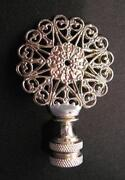Nickel Lamp Finial