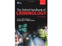 University study books, excellent condition, suitable for law/Criminology/Sociology, prices vary