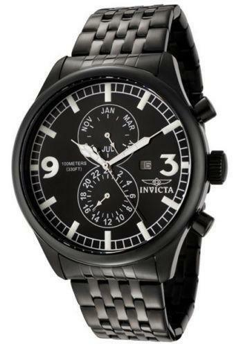 invicta mens watch gunmetal invicta mens watch military