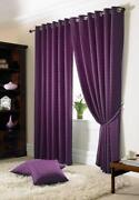 Black Purple Curtains