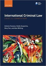 New international criminal law cases and commentary book £15 or best offer