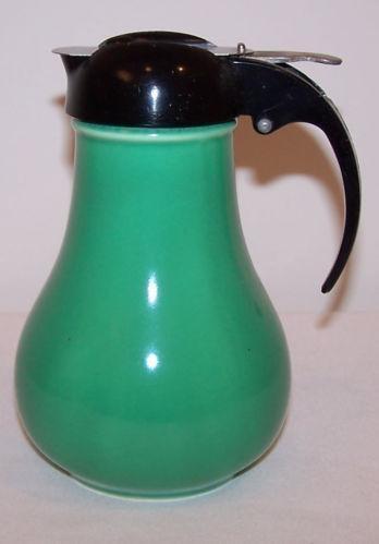 Vintage Green Pitcher Ebay