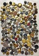 Metal Buttons Lot