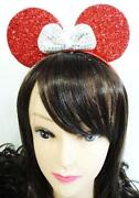 Red Minnie Mouse Ears