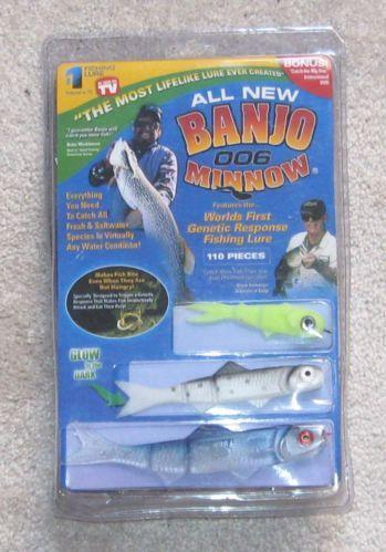 Banjo minnow fishing ebay for As seen on tv fishing lures