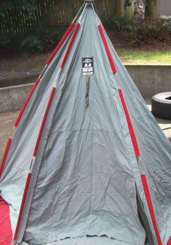 Used Canvas Tent Ebay