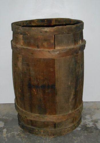 Vintage Wooden Nail Keg Ebay