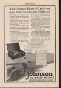 Used Johnson Boat Motors