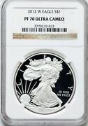 2012 Silver Eagle Proof