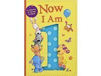 Now I Am 1 Board book
