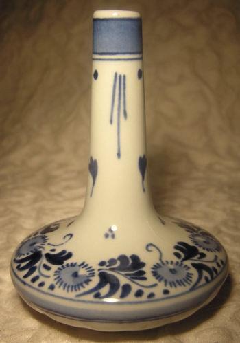 Delft Bud Vase Ebay