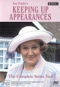 Keeping-Up-Appearances-Series-3-amp-4-DVD-3-Disc-Set-Region-4-VGC