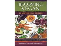 Becoming Vegan book by Brenda Davis (Comprehensive Edition) Excellent condition - £27 on Amazon