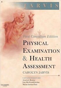 Physical Examination and Health Assessment Hardcover Jarvis